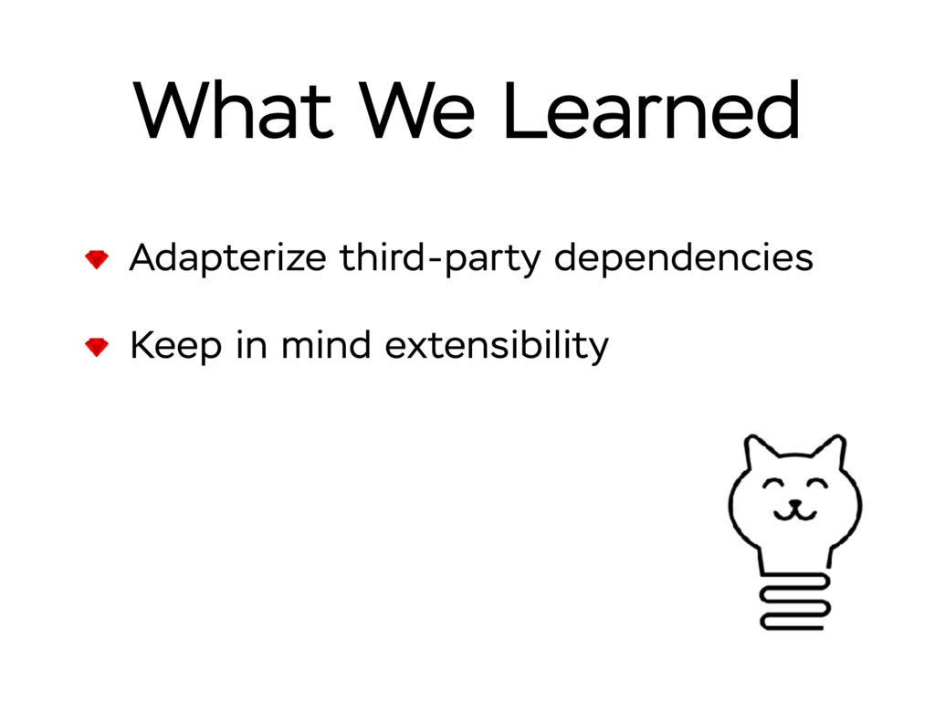 What We Learned Adapterize third-party dependen...