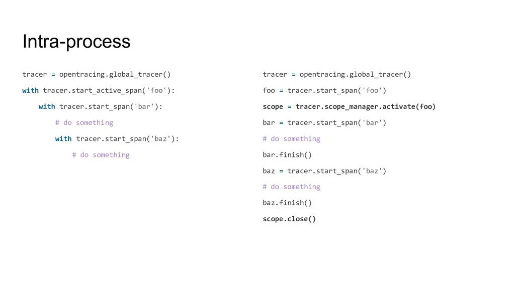 Intra-process tracer = opentracing.global_trace...