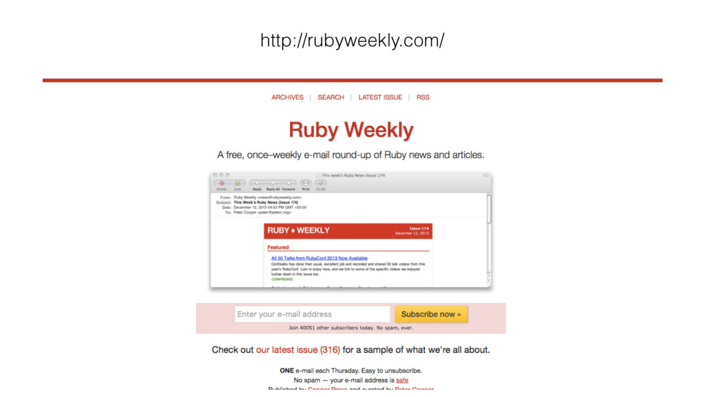 http://rubyweekly.com/