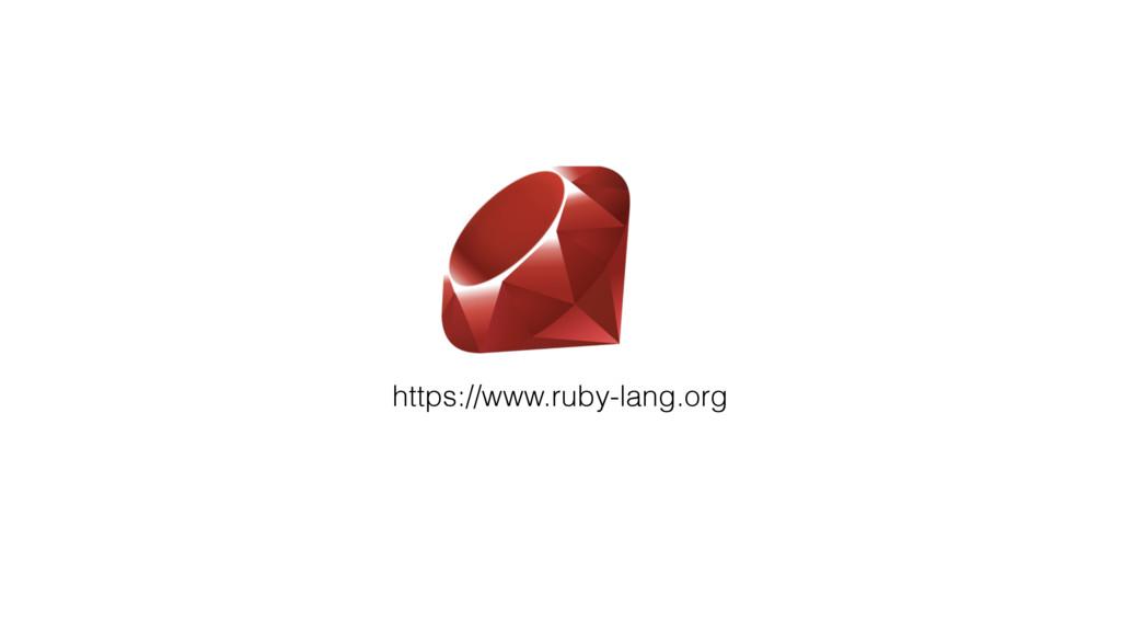 https://www.ruby-lang.org
