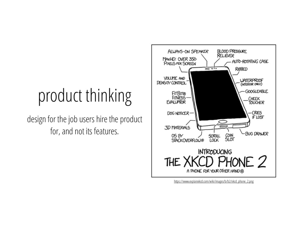product thinking design for the job users hire ...
