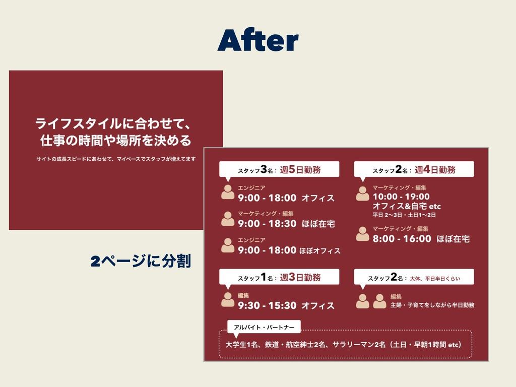 After 2ϖʔδʹׂ
