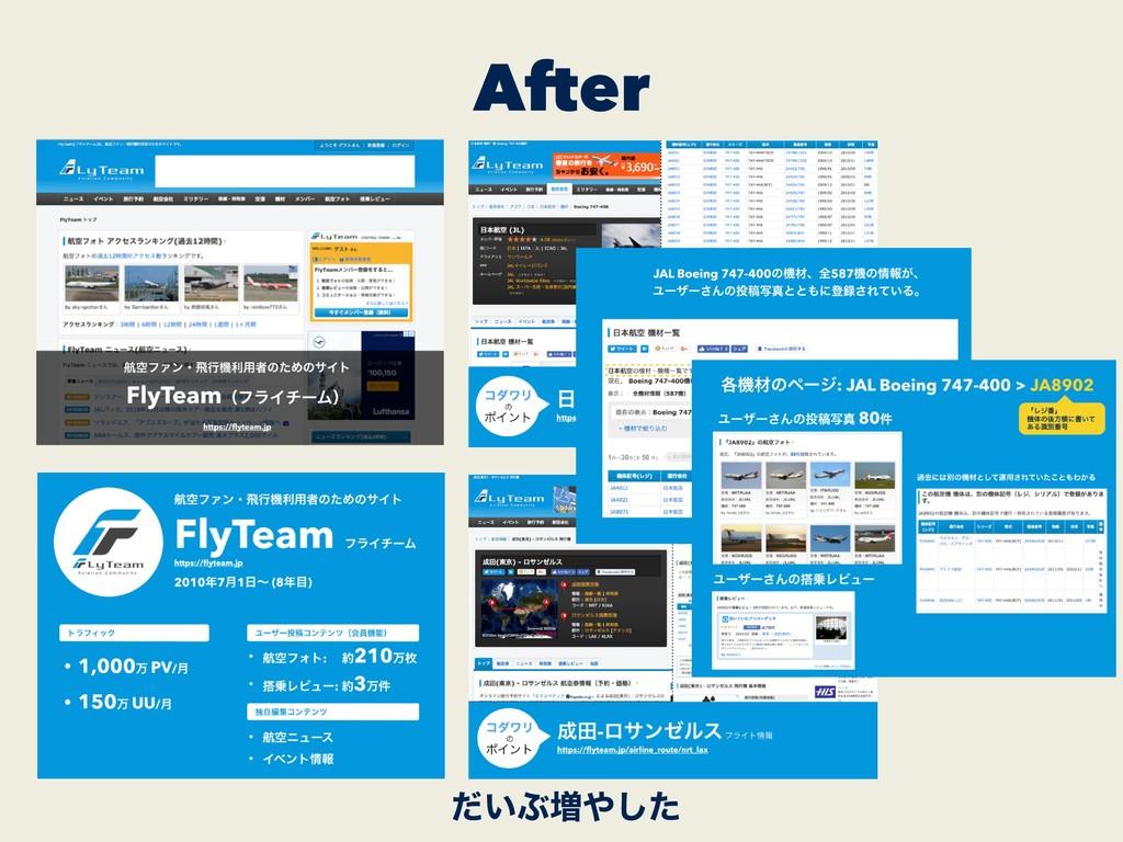 After ͍ͩͿ૿ͨ͠