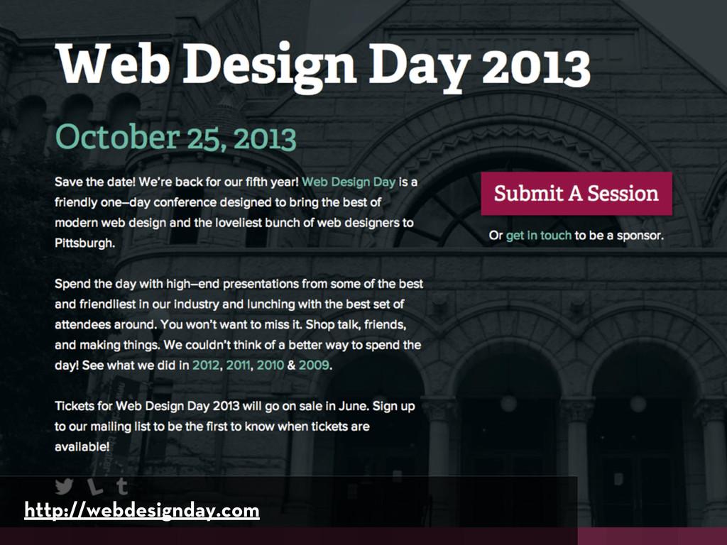 http://webdesignday.com