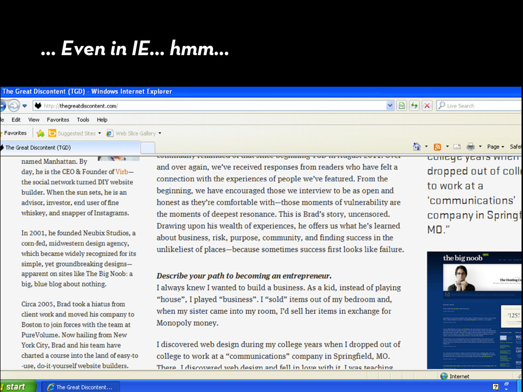 ... Even in IE... hmm...