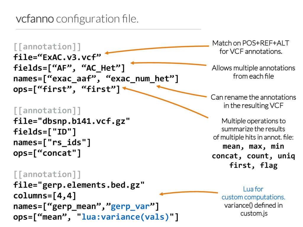 """[[annotation]] file=""""ExAC.v3.vcf"""" fields=[""""AF"""",..."""