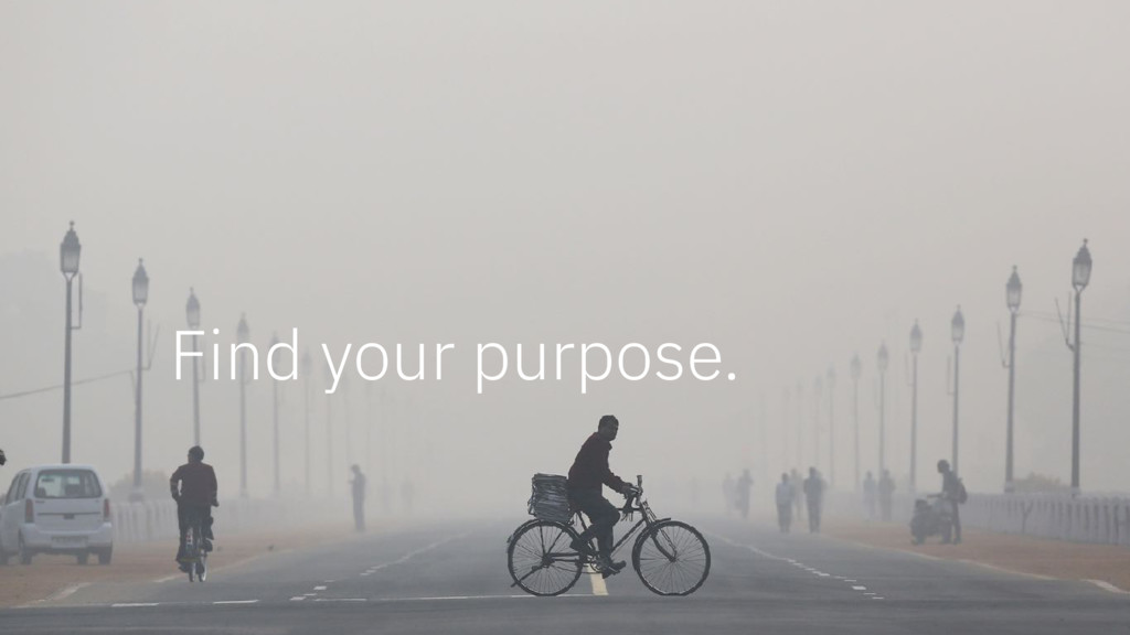 Find your purpose.