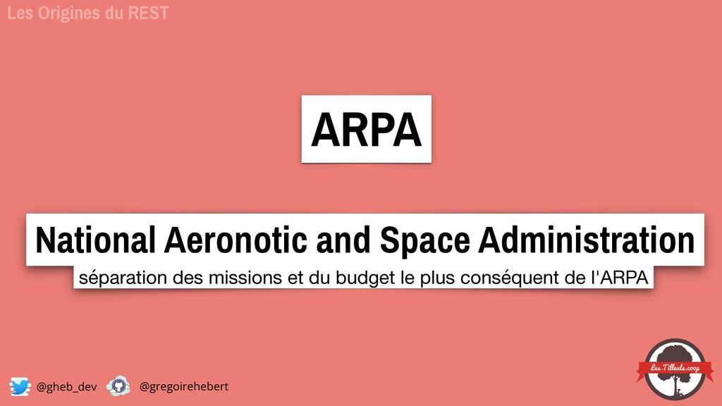 @gheb_dev @gregoirehebert ARPA  National Aeron...