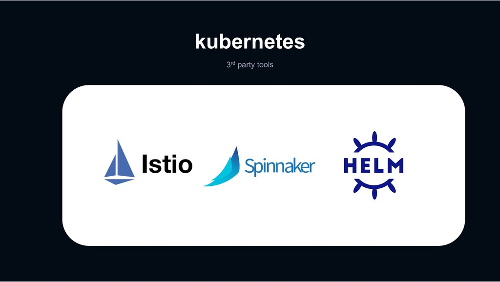 kubernetes 3rd party tools
