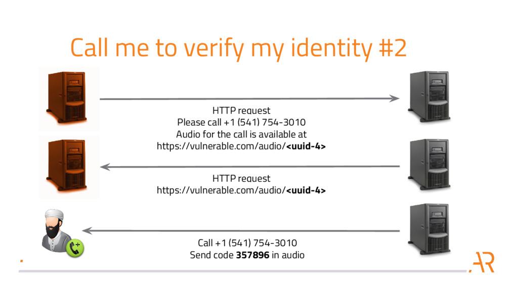 Call me to verify my identity #2 Call +1 (541) ...