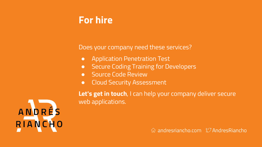 For hire Does your company need these services?...