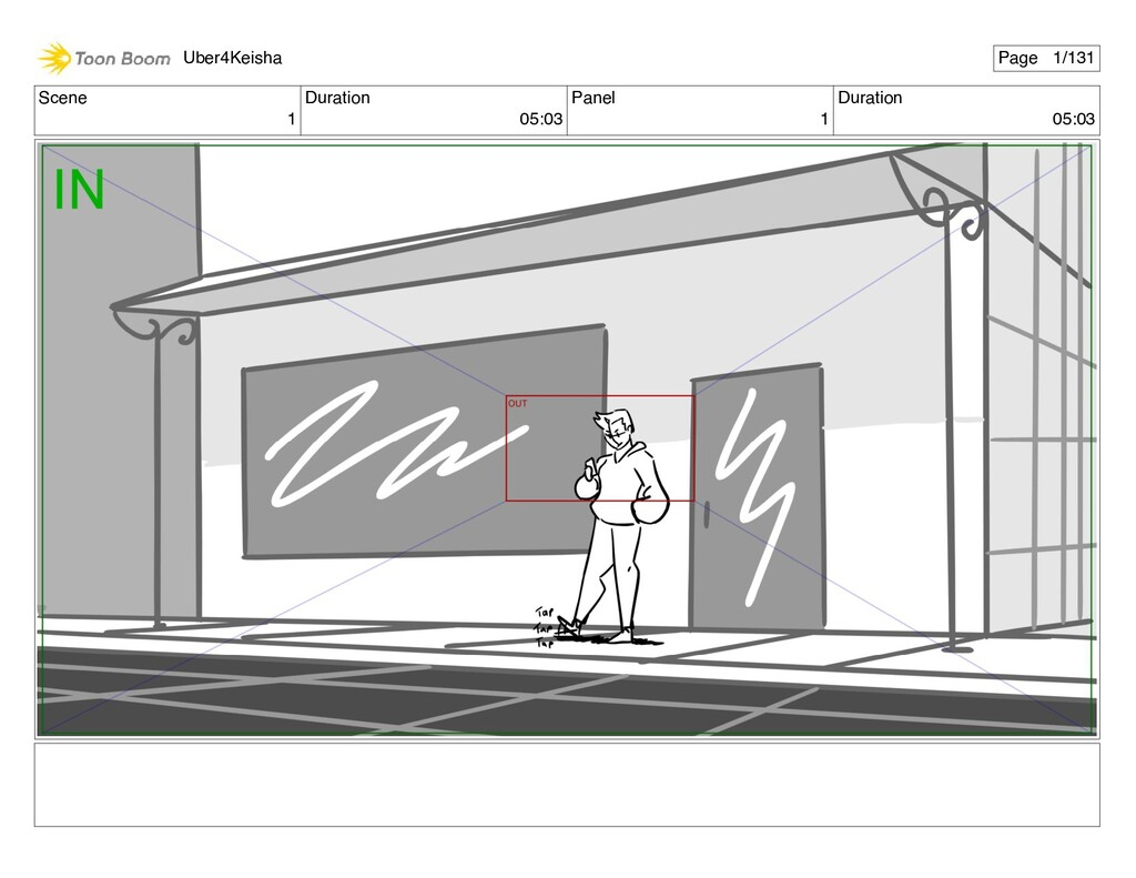 Scene 1 Duration 05:03 Panel 1 Duration 05:03 U...