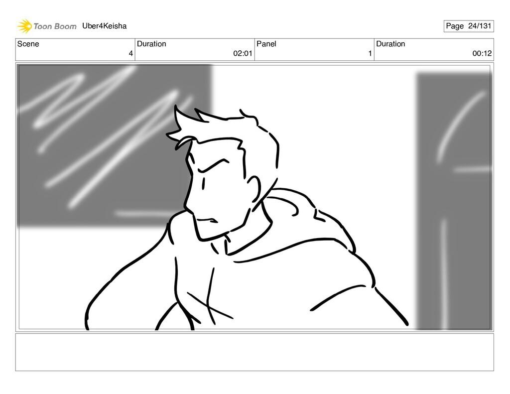 Scene 4 Duration 02:01 Panel 1 Duration 00:12 U...