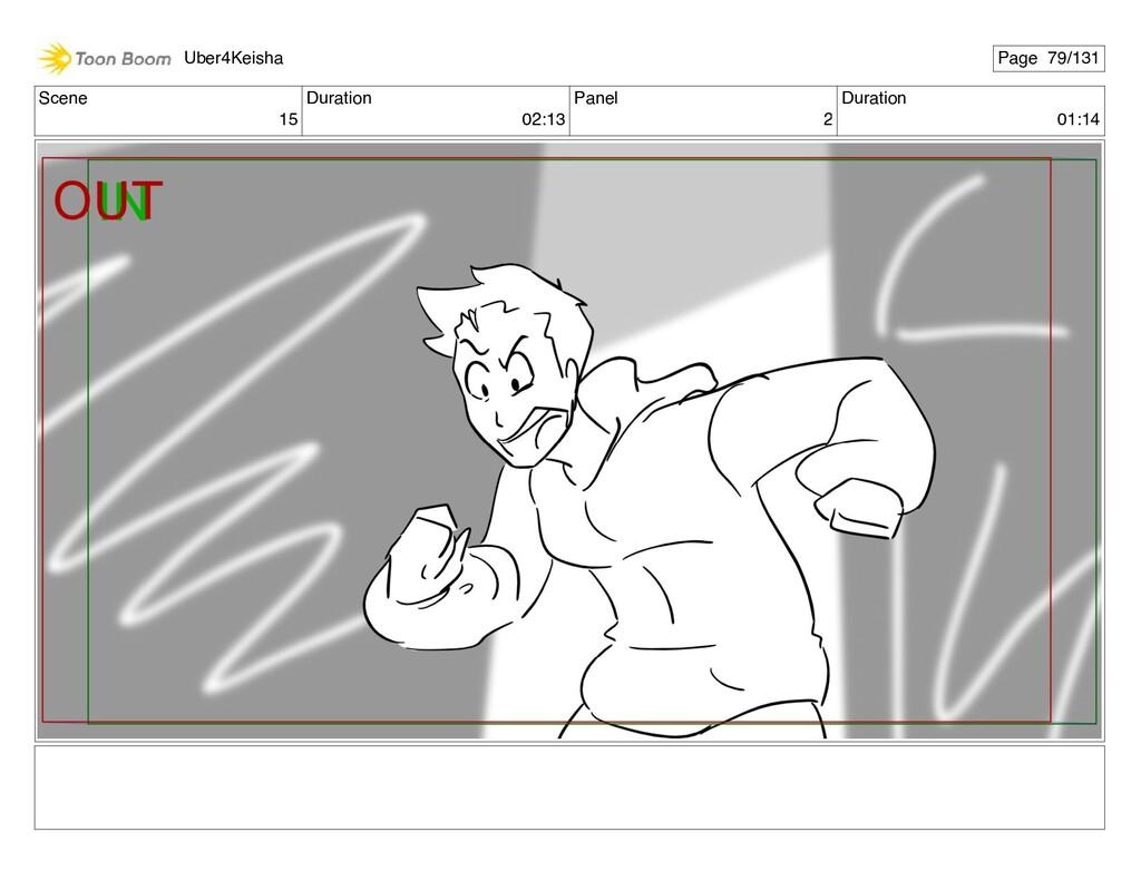 Scene 15 Duration 02:13 Panel 2 Duration 01:14 ...