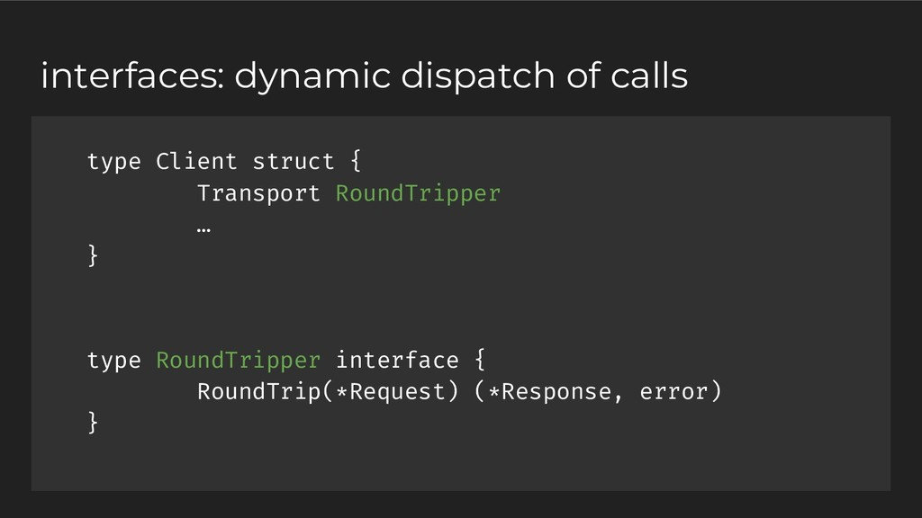 type Client struct { Transport RoundTripper … }...