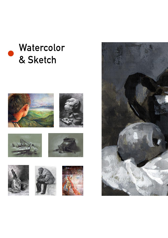 Watercolor & Sketch