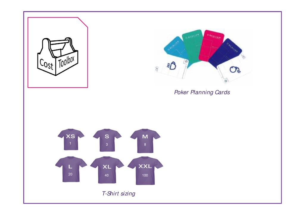 Poker Planning Cards T-Shirt sizing