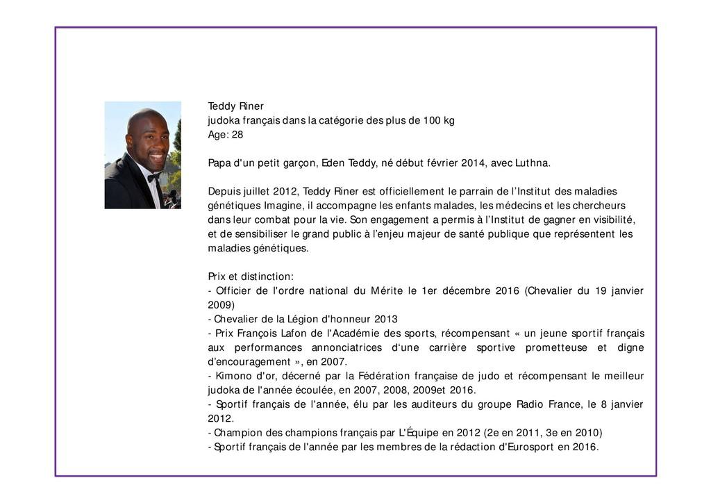 Teddy Riner judoka français dans la catégorie d...