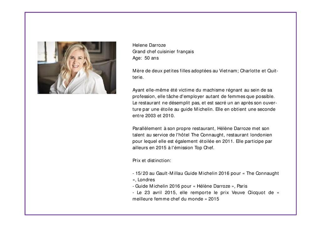 Helene Darroze Grand chef cuisinier français Ag...