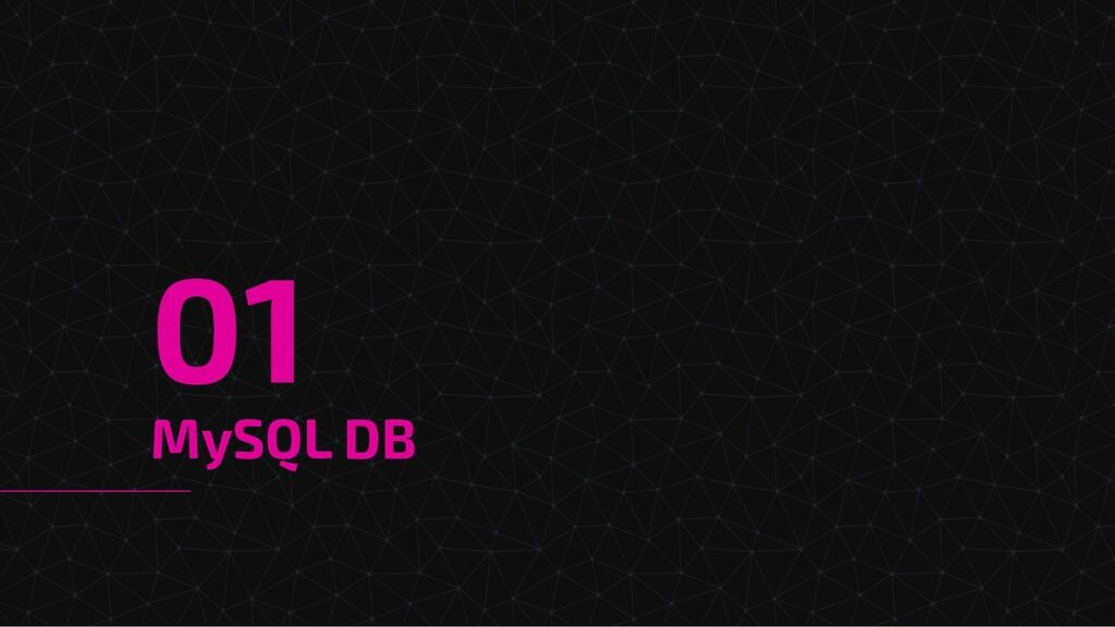 MySQL DB 01