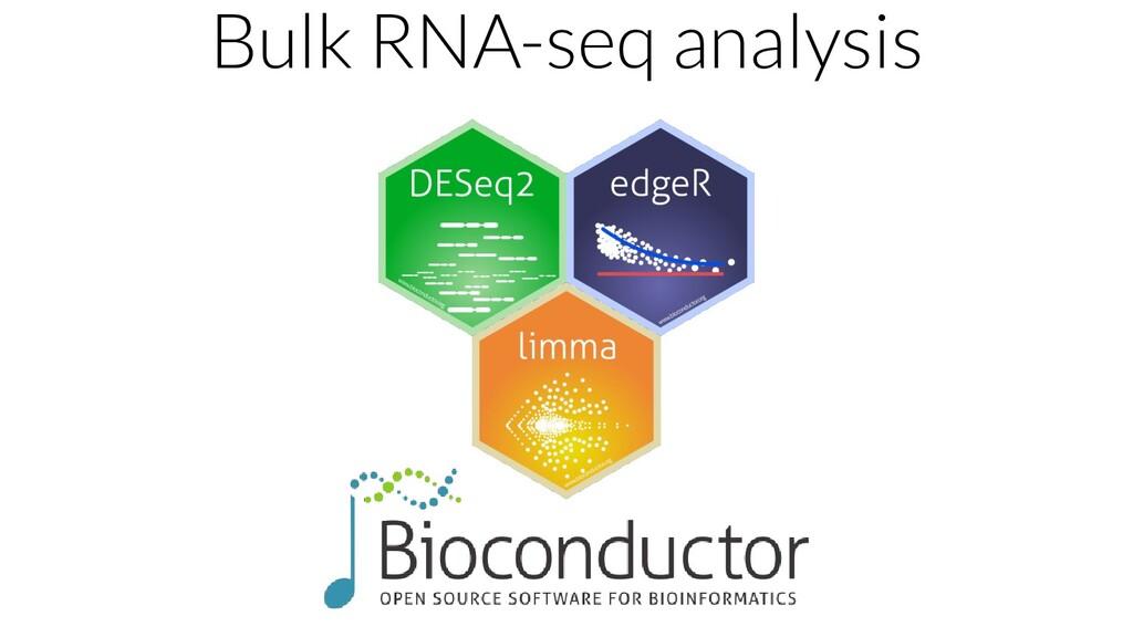 Bulk RNA-seq analysis