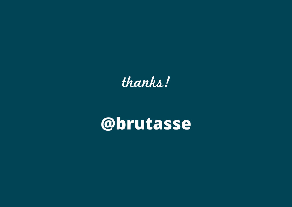 thanks! @brutasse