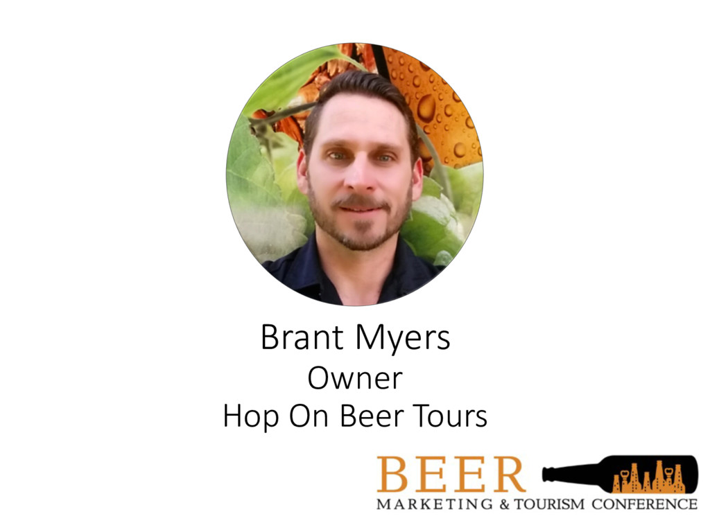 Brant Myers Owner Hop On Beer Tours
