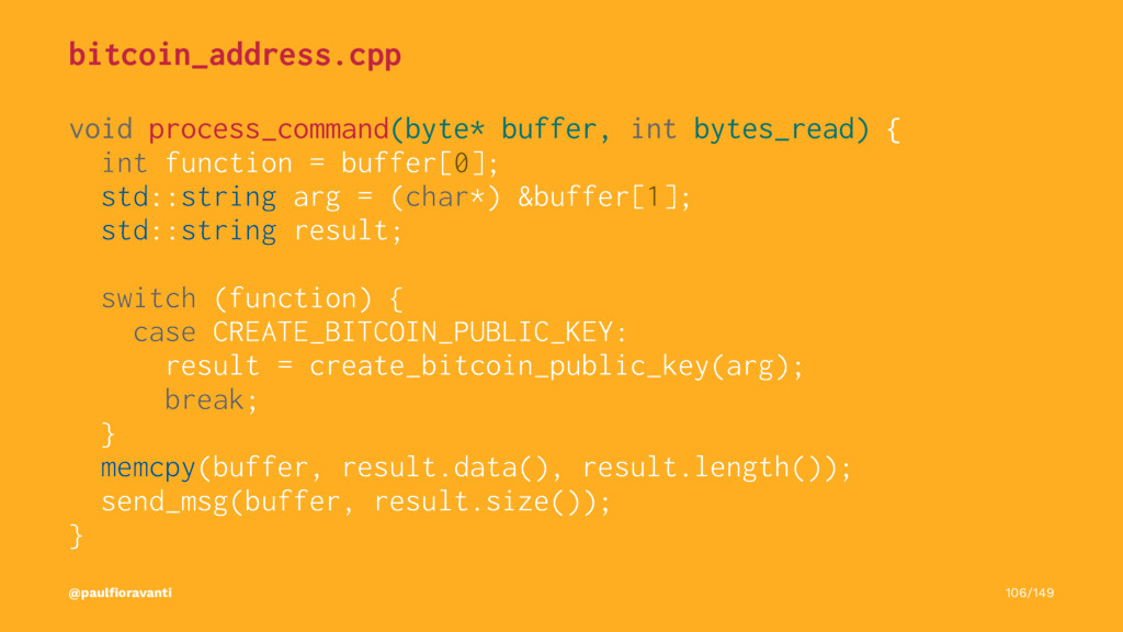 bitcoin_address.cpp void process_command(byte* ...
