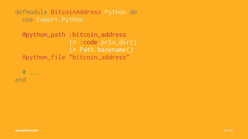 defmodule BitcoinAddress.Python do use Export.P...