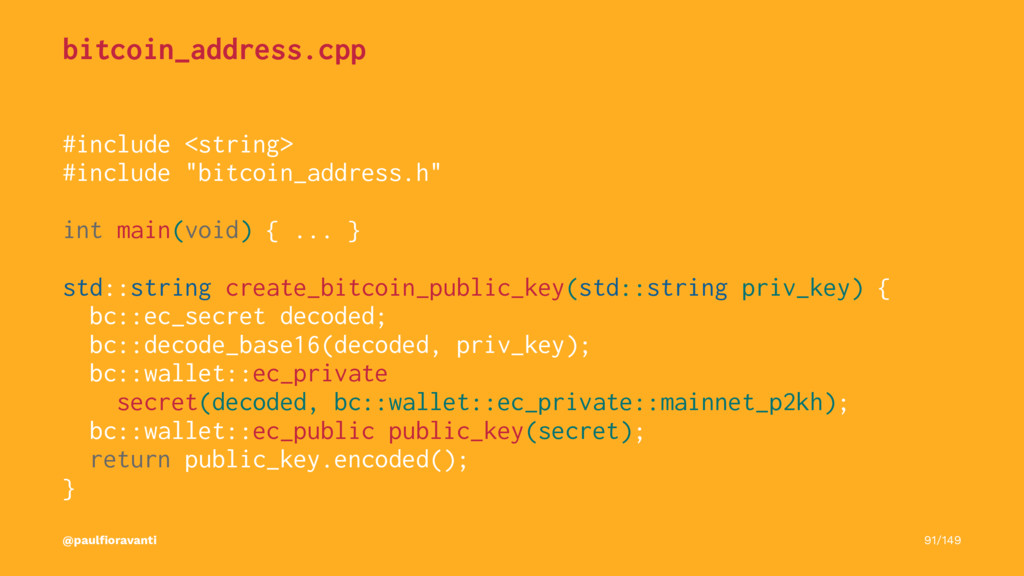 bitcoin_address.cpp #include <string> #include ...