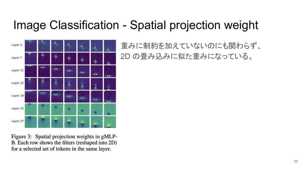 Image Classification - Spatial projection weigh...