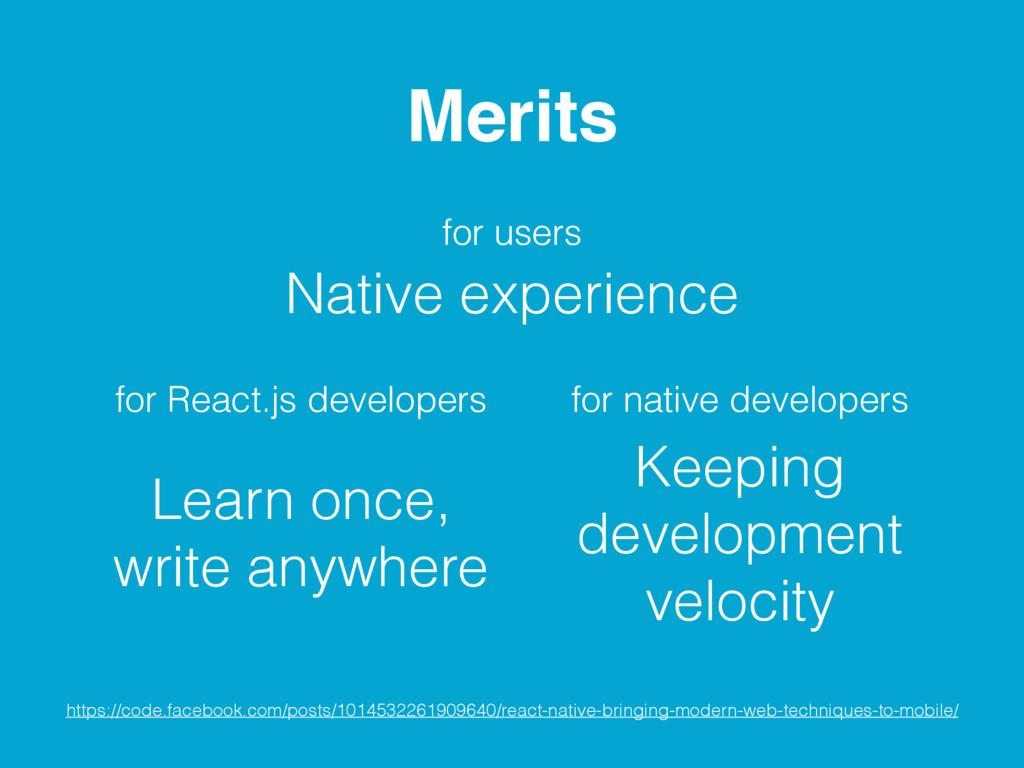 Learn once, write anywhere Keeping development ...