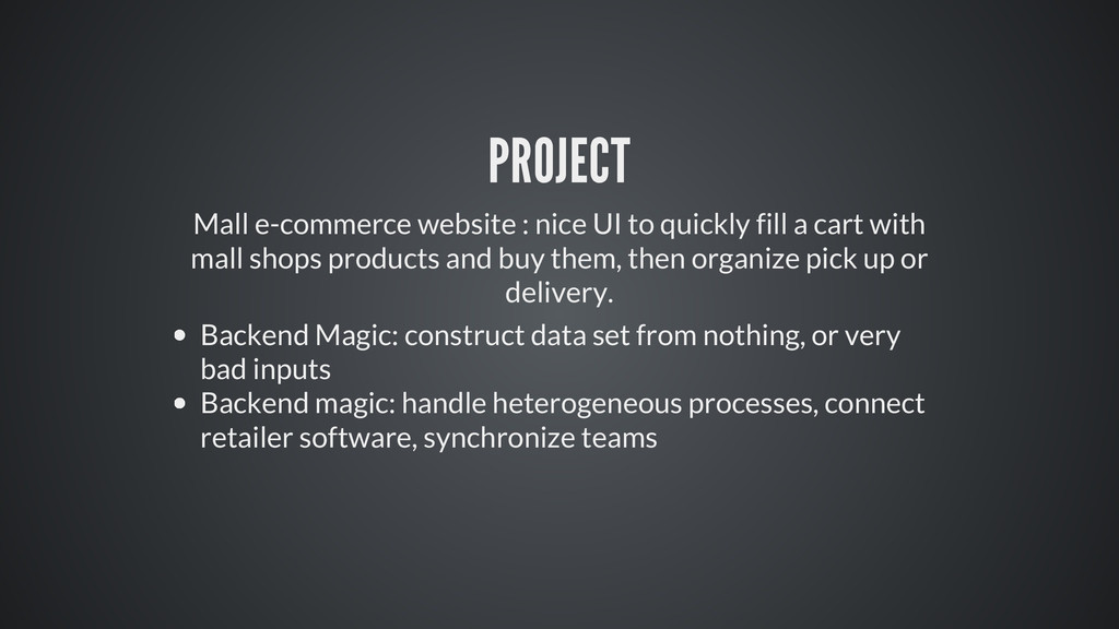PROJECT Mall e-commerce website : nice UI to qu...