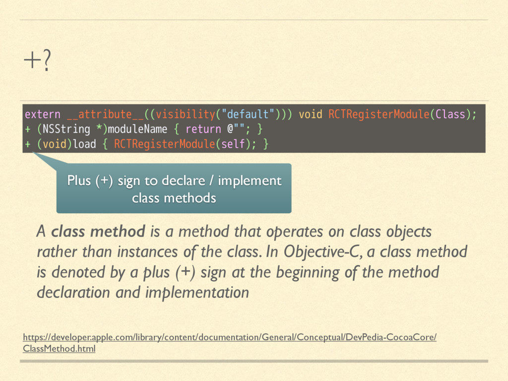+? A class method is a method that operates on ...