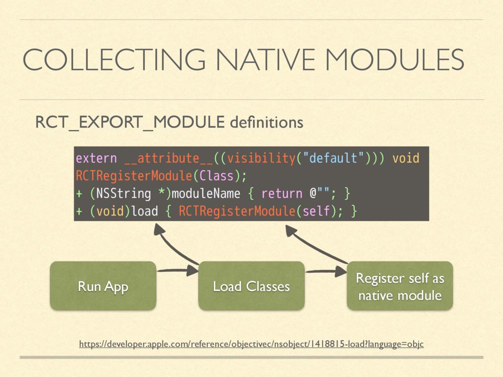 COLLECTING NATIVE MODULES https://developer.app...