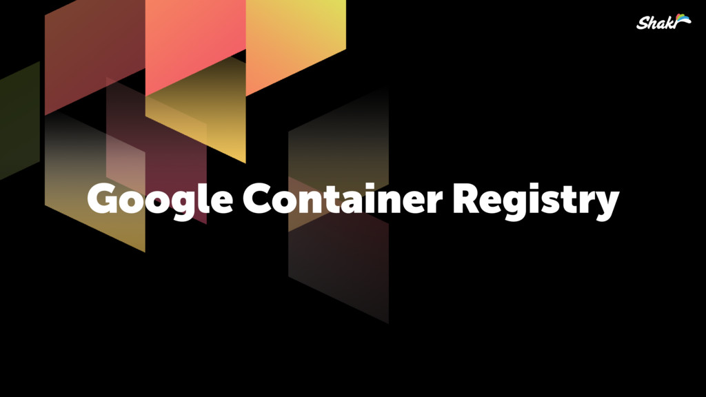 Google Container Registry