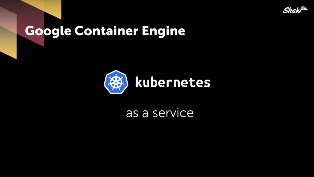 Google Container Engine as a service
