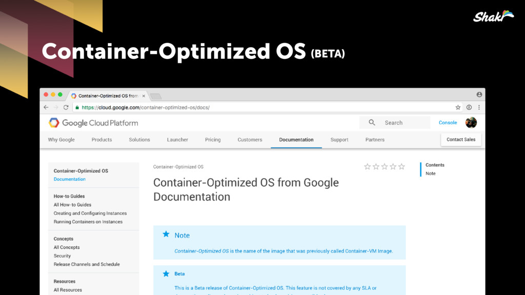 Container-Optimized OS (BETA)