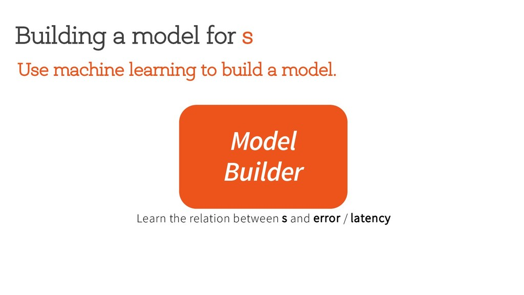 Building a model for s Model Builder Use machin...