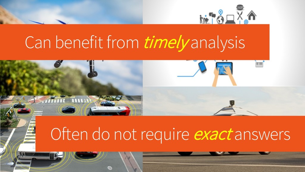Can benefit from timely analysis Often do not r...