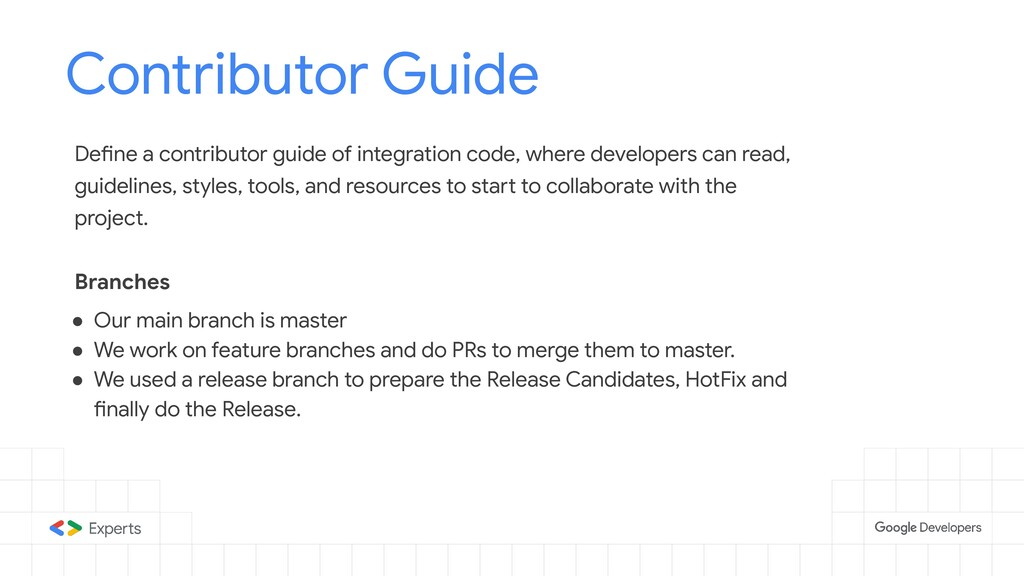 Contributor Guide Tools to d Define a contribut...