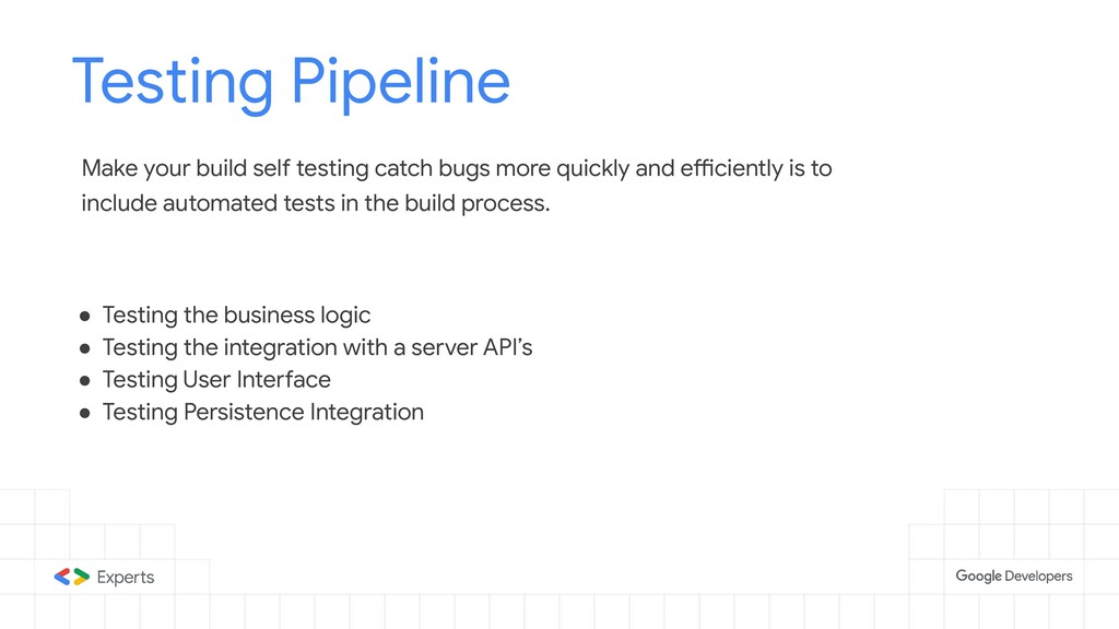 Testing Pipeline Tools to d Make your build sel...