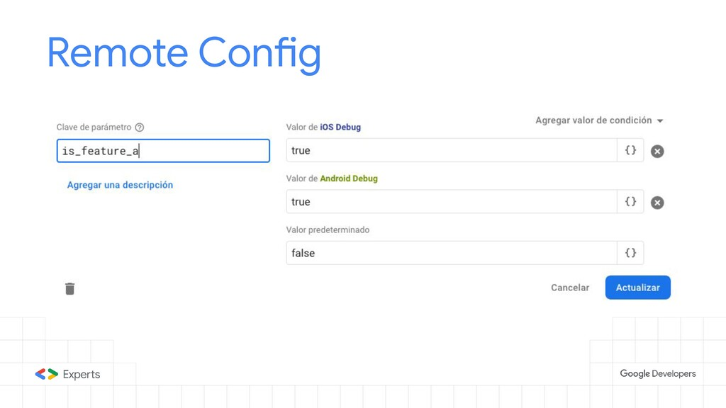 Remote Config Tools to d