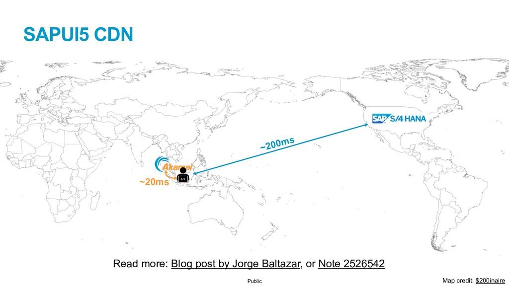 Public SAPUI5 CDN Read more: Blog post by Jorge...