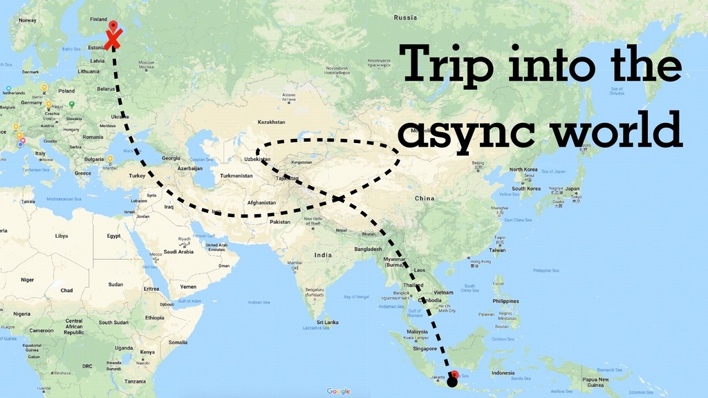 Trip into the async world