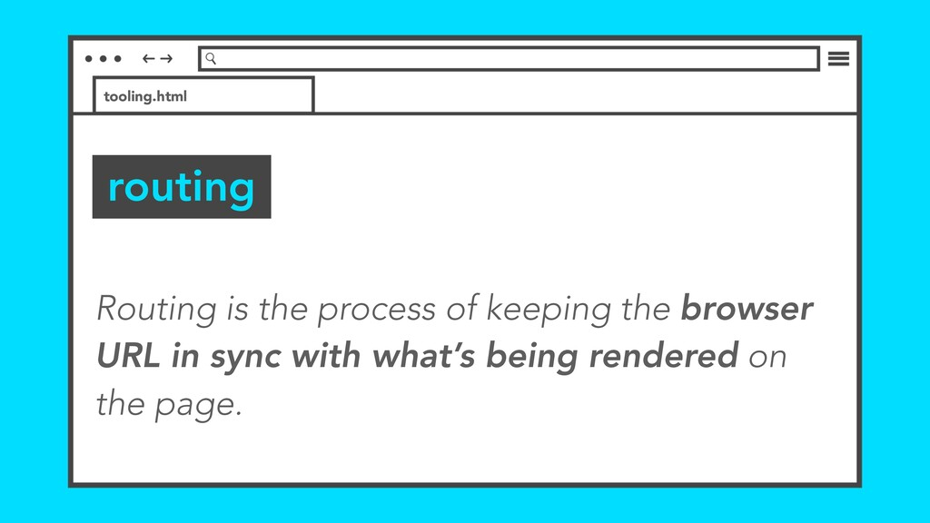 routing tooling.html Routing is the process of ...