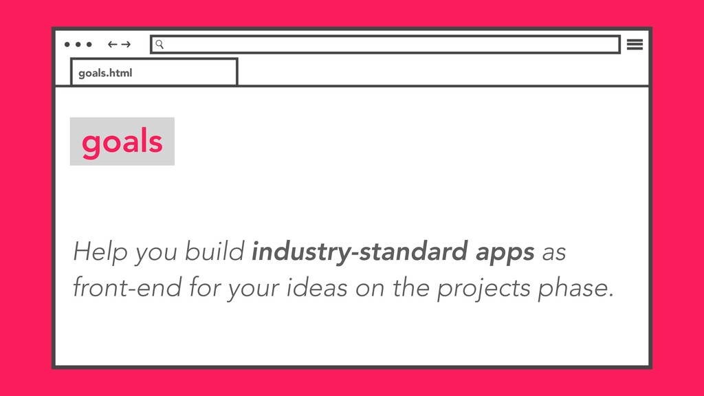 Help you build industry-standard apps as front-...