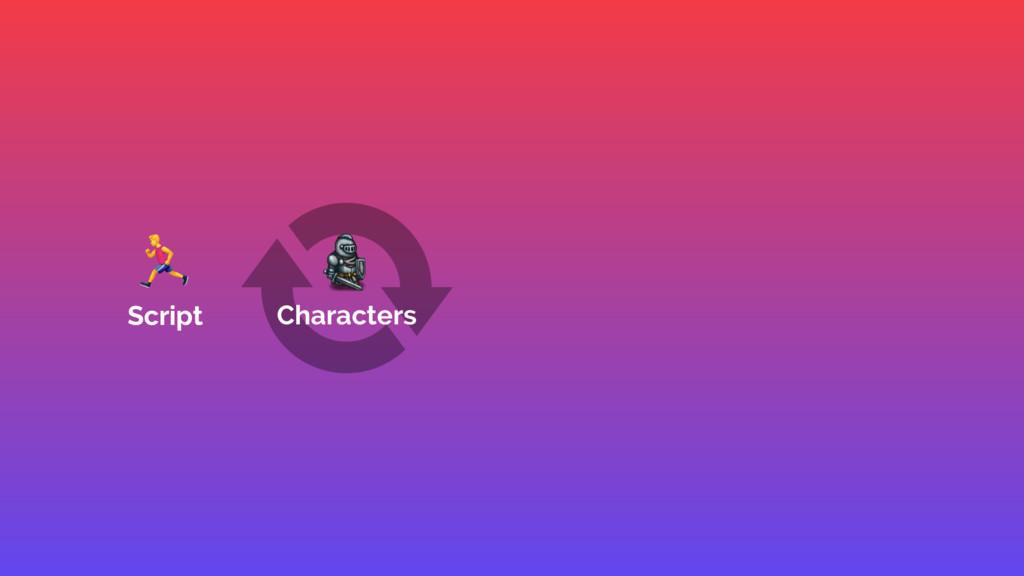 , Script Script Characters