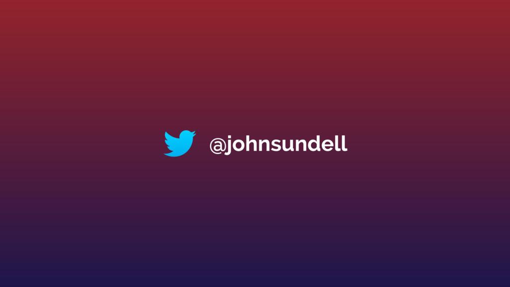 @johnsundell