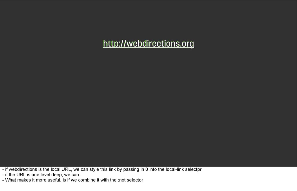 http://webdirections.org http://webdirections.o...